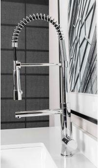 Divine Luxury Gooseneck Kitchen Faucet