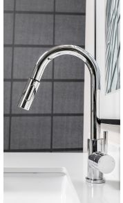 Divine Kitchen Faucet With Pulldown Spray