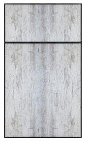 European Cabinets Frameless Panel Doors - Black Krystal - Divine Cabinetry