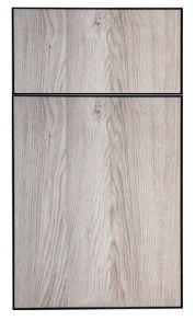 European Cabinets Frameless Panel Doors - Black Vega - Divine Cabinetry