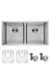 "Divine Kitchen Sink Double Bowl 32"""
